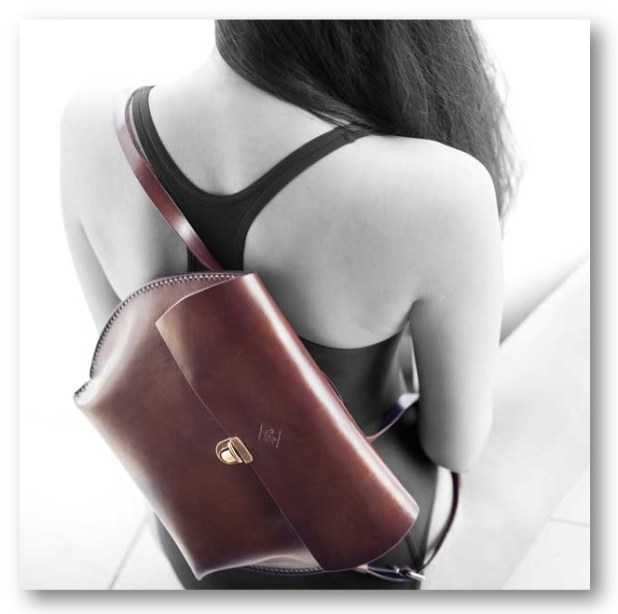 Raff Hugo Genuine Leather Backpack