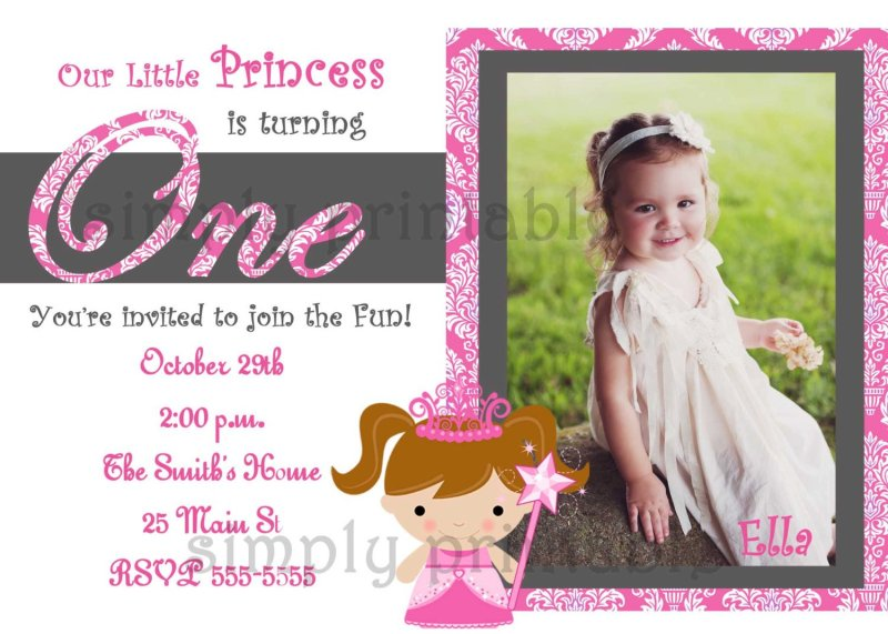 1st birthday invitation letter sample invitationswedd how to write invitation letter for 1st birthday party cover stopboris Images