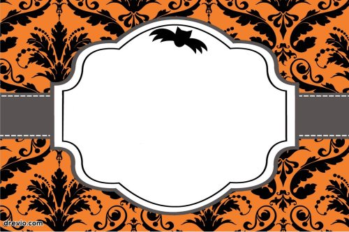 Medium Of Halloween Birthday Invitations