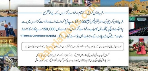 Good news for bahria karachi