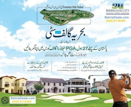 Bahria Golf City Karachi Booking Open