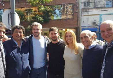 Con Marcos Peña y Daniel Salvador, Cambiemos realizo un nuevo timbre en San Fernando