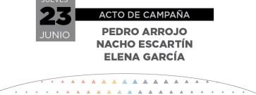 Acto central de campaña de Unidos Podemos en Caspe