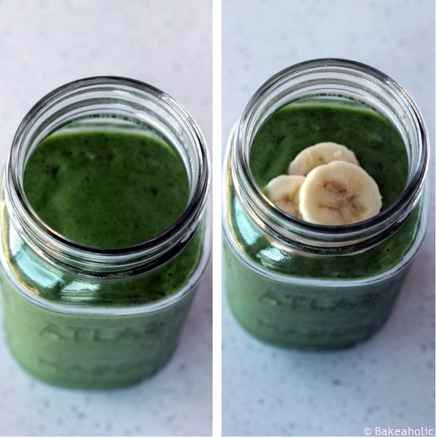 Cucumber Green Smoothie // bakeaholic.ca