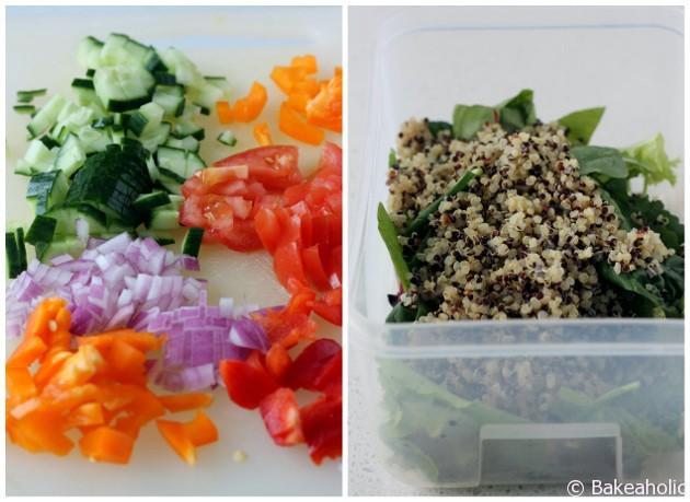 Mediterranean Quinoa Salad Bowl