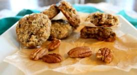 Gluten Free Oatmeal Pecan Cookies