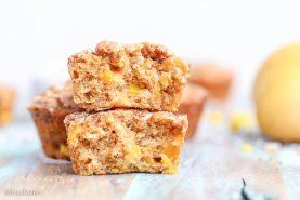 Mango Coconut Crumble Muffins (Vegan)