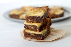 Gooey Chocolate Toffee Blondies