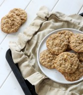 White Chocolate Cinnamon Oatmeal Cookies
