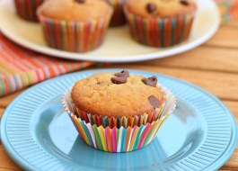 Banana Chocolate Chip Muffins (GF, Vegan)