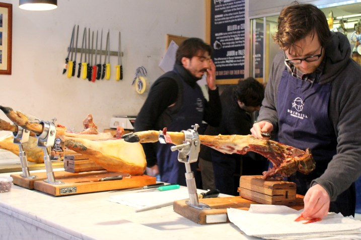 Iberian Ham from Borough Market, London | Bakerita.com