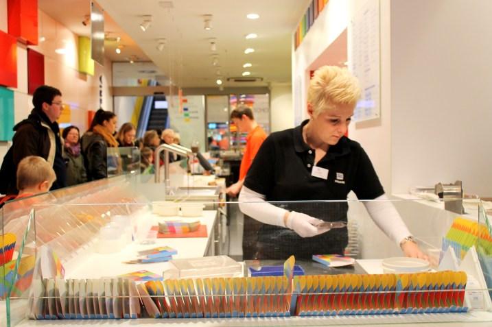 Ritter Sport Chocolate Store in Berlin, Germany | Bakerita.com
