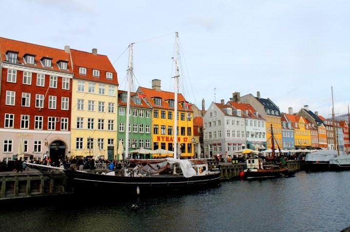 Nyhavn Street in Copenhagen, Denmark | Bakerita.com