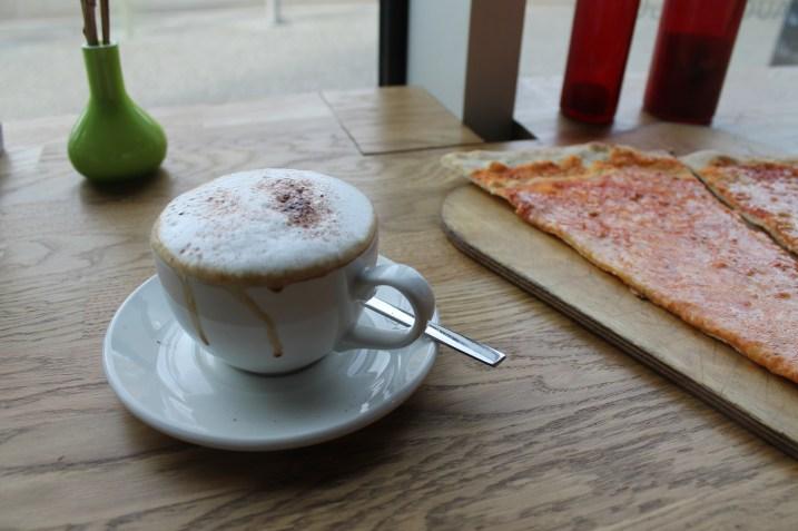 Coffee & Pizza at La Vespa in Berlin Germany | Bakerita.com