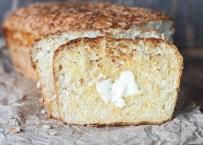 Cheesy English Muffin Bread