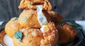 Cheesy Tomato Basil Rolls