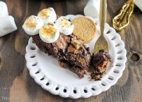 S'mores Oreo Skillet Brownie