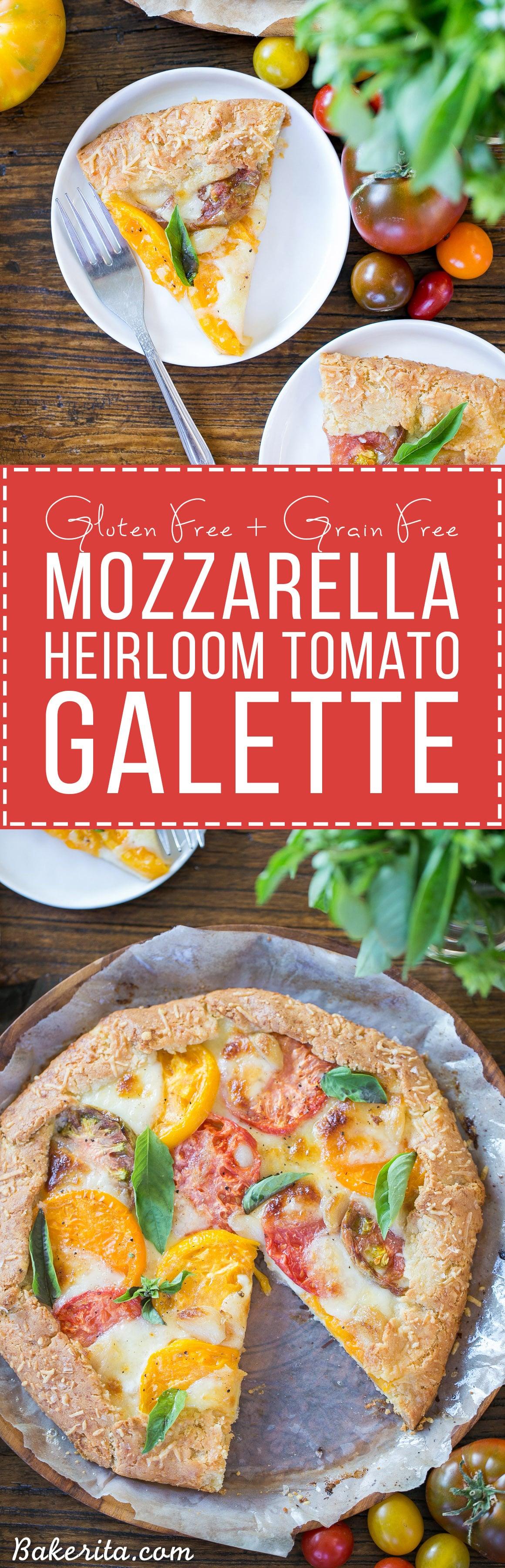Heirloom Tomato Galette showcases beautiful heirloom tomatoes ...
