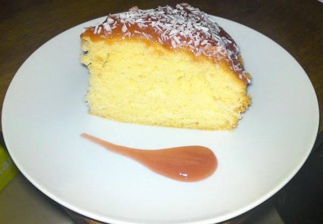 Jam-Coconut-Sponge