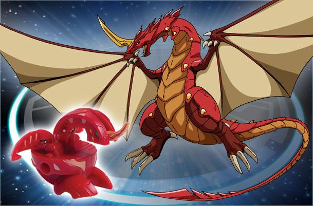 BK CD Dragonoid Dragonoid Bakugan