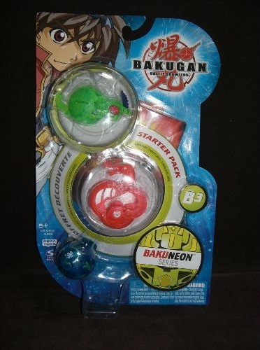 B3BakuNeon StarterPack Bakugan BakuNeon B3 Series Packs