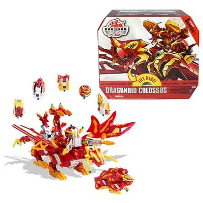 Dragonoid Colossus Bakugan Mobile Assault (Vehicles)