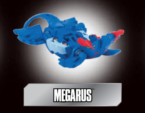 poster megarus Megarus Bakugan
