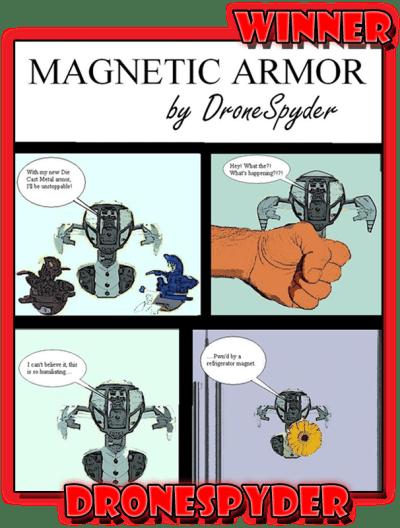 DroneSpyderMSComicWinner Winners of the Mechtanium Surge Comic Contest   July 2011!