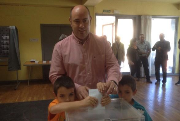 Jordi Ignasi Vidal, cap de llista per ERC Balaguer (Autor: Josep Blanch)