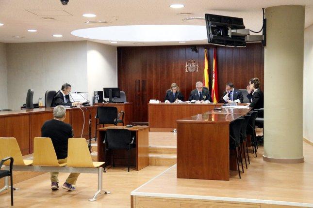 Imatge general del judici a un acusat de violar la filla de la seva cosina. Imatge del 18 de maig de 2017 a l'Audiència de Lleida. (Horitzontal)