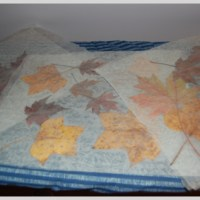 Preserving Fall In Wax Paper