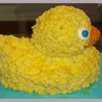 First Birthday Duck Cake