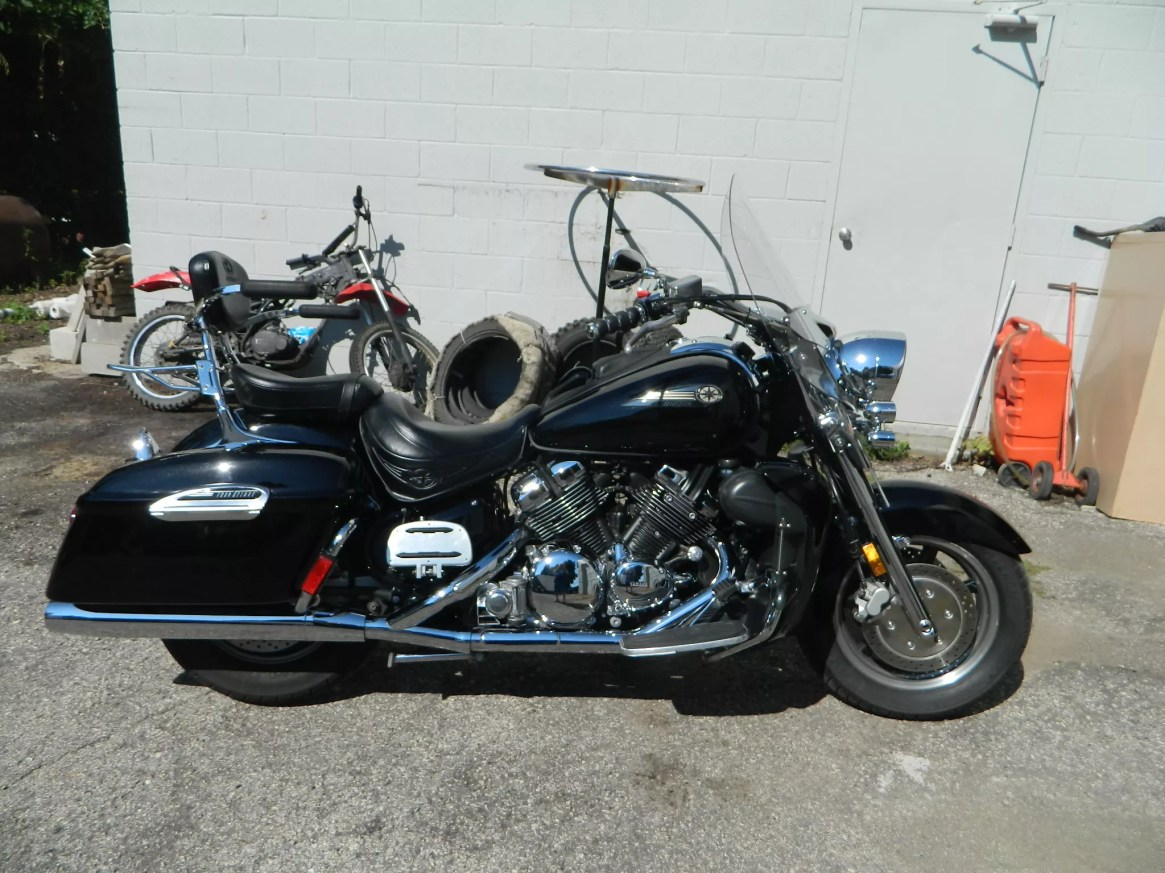 USED 2007 YAMAHA ROYAL STAR DELUXE STREET TOUR MOTORCYCLE FOR SALE
