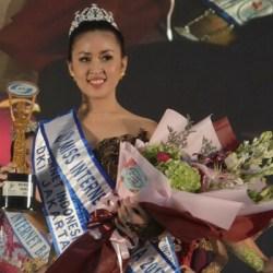 Marsya Gusman, Duta Pertama Miss Internet Indonesia 2017