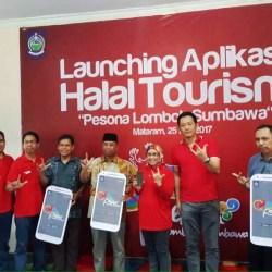 """Telkomsel Bersama Pemerintah Provinsi NTB Resmikan Aplikasi Halal Tourism """"Pesona Lombok Sumbawa"""""""