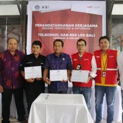 Sinergi Telkomsel dan LPD di Bali
