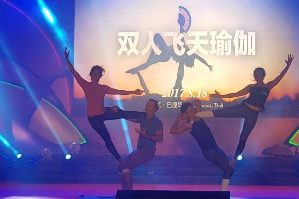 Seribu Pecinta Yoga dari Cina Kunjungi Bali