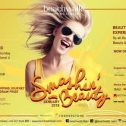 "Beachwalk ""Smashin' Beauty"" Awali 2018"