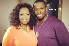 Oprah and 50 Cent