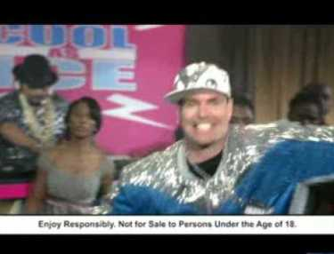 Vanilla Ice Appears in Castle Lite Commercial