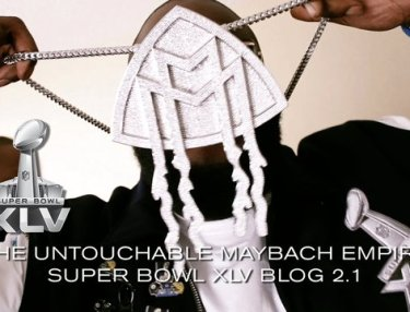 Maybach Music Super Bowl XLV Vlog: Rick Ross Parties It Up, Shows New Jewelry