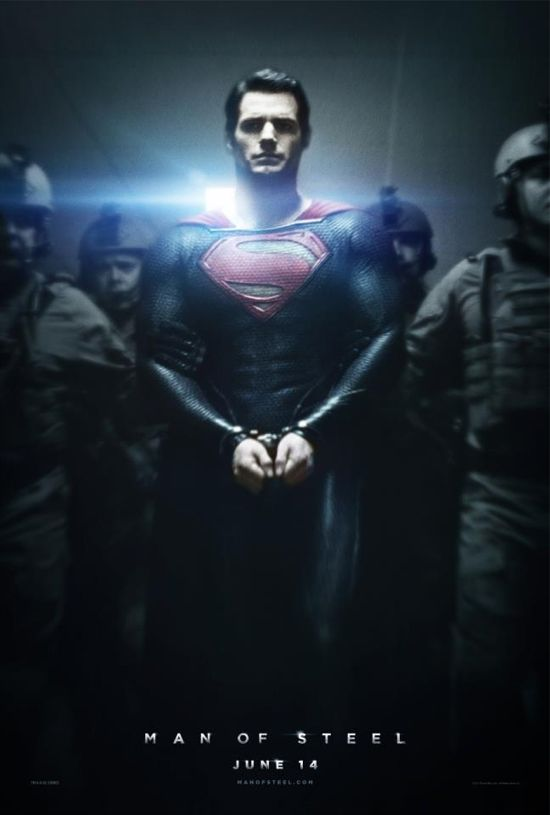 The Man Of Steel movie poster