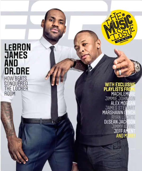 ESPN The Magazine - Feb 2013 - Dr. Dre and LeBron James