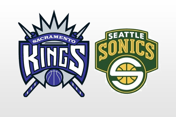 Sacramento Kings vs. Seattle Supersonics