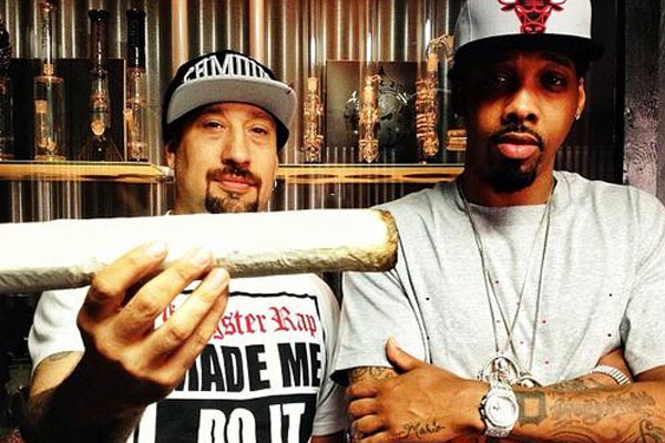 B-Real and Chevy Woods