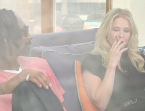 Chelsea Handler Smokes Weed With Snoop Dogg, Snacks On Dogg Food (Funny Video)