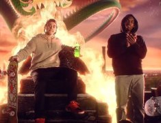 Skaters P-Rod, Theotis Beasley Featured In Mountain Dew 'Living Portrait' Ad
