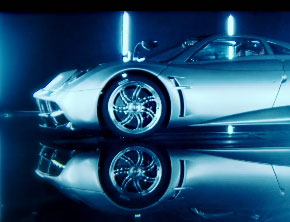 Inside The Pagani Huayra With Top Gear (Video)