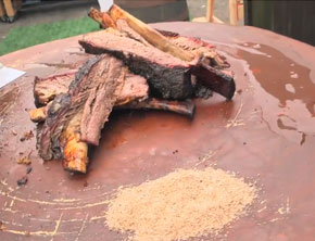 Chef Adam Perry Lang Shows Off Some 'Serious Barbecue' (Video)