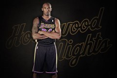 Lakers Black Hollywood Nights Uniforms